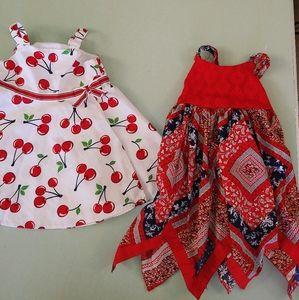 BlueBeri Boulevard and gymboree dresses